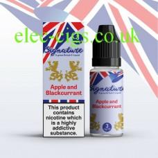 Apple & Blackcurrant 10 ML E-Liquid from Signature