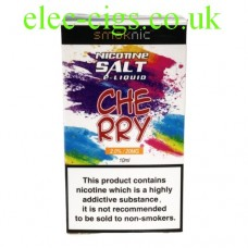 Cherry 20 MG Nicotine Salt E-Liquid from Smoknic