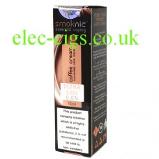 Coffee Cream E-Liquid by Smoknic
