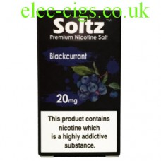 Blackcurrant High Nicotine E-Liquid by Soltz