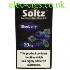 Blueberry High Nicotine E-Liquid by Soltz