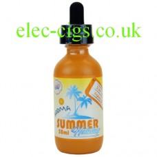 Sun Tan Mango 50 ML Summer Holiday E-Juice by Dinner Lady