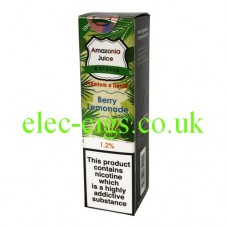 Amazonia 10 ML E-Liquid: Berry Lemonade