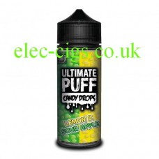 Lemon & Sour Apple 100 ML E-Liquid from the 'Candy Drops' Range by Ultimate Puff