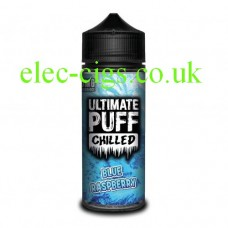 Blue Raspberry 100 ML E-Liquid from the 'Chilled' Range by Ultimate Puff