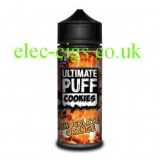 Chocolate Orange 100 ML E-Liquid from the 'Cookie' Range by Ultimate Puff