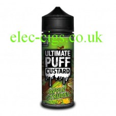 Apple Strudel 100 ML E-Liquid from the 'Custard' Range by Ultimate Puff