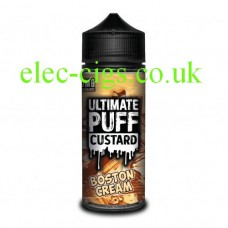 Boston Cream 100 ML E-Liquid from the 'Custard' Range by Ultimate Puff