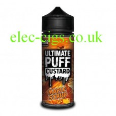 Maple Syrup 100 ML E-Liquid from the 'Custard' Range by Ultimate Puff