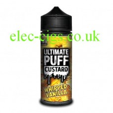 Whipped Vanilla 100 ML E-Liquid from the 'Custard' Range by Ultimate Puff