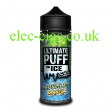 Apple and Mango 100 ML E-Liquid from the 'On Ice' Range by Ultimate Puff