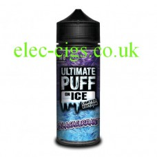 Blackcurrant 100 ML E-Liquid from the 'On Ice' Range by Ultimate Puff