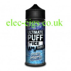 Blue Slush 100 ML E-Liquid from the 'On Ice' Range by Ultimate Puff