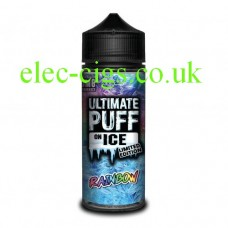 Rainbow 100 ML E-Liquid from the 'On Ice' Range by Ultimate Puff