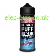 Raspberry 100 ML E-Liquid from the 'On Ice' Range by Ultimate Puff