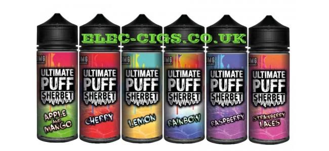 Ultimate Puff Sherbet E-Liquids
