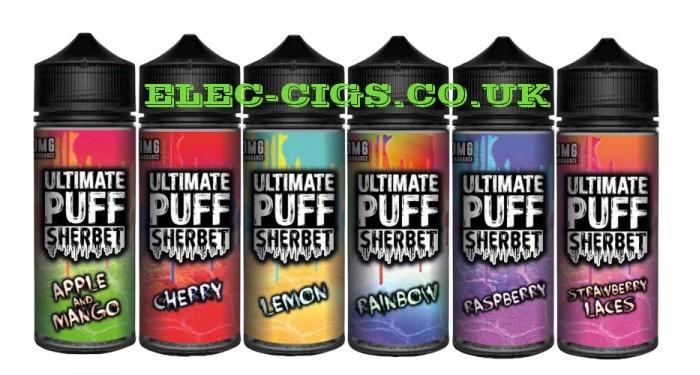 Ultimate Puff 'Sherbet' E-Liquids