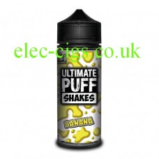 Banana 100 ML E-Liquid from the 'Shakes' Range by Ultimate Puff