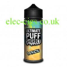 Lemon 100 ML E-Liquid from the 'Sherbet' Range by Ultimate Puff