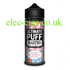Toasted Hot Cross Bun with Jam 100 ML E-Liquid from the Easter Range by Ultimate Puff