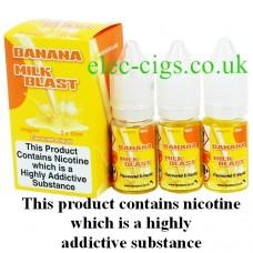 Banana Milk Blast Vape Juice 30 ML: 80-20 (VG/PG) by VG Vapour