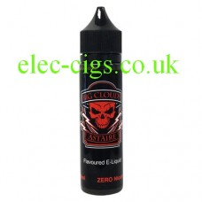 Image is a bottle of Big Clouds Black Astaire 50 ML E-Liquid by VG Vapour