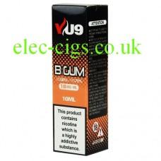 B Gum E-Liquid 10 ML from VU9