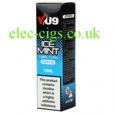 Ice Mint E-Liquid 10 ML from VU9