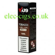 Tobacco E-Liquid 10 ML from VU9