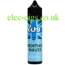Menthol Waves 50 ML E-Liquid by VU9