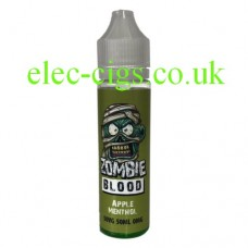 Apple Menthol 50 ML E-Liquid from Zombie Blood