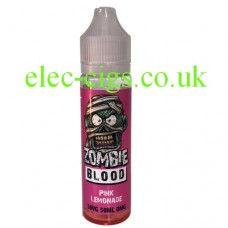 Pink Lemonade 50 ML E-Liquid from Zombie Blood