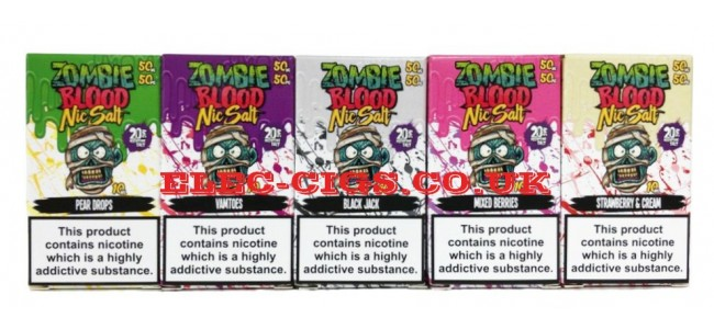 Zombie Blood 10ML Nic Salt E-Liquids 20 MG