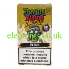 Opal Fruits 50-50 Nic Salt 20 MG by Zombie Blood