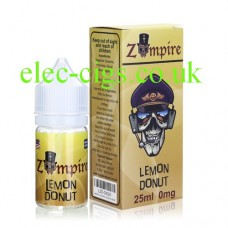Lemon Donut E-Liquid by Zompire