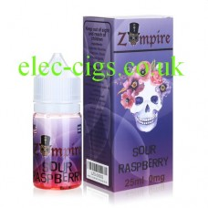 Sour Raspberry E-Liquid by Zompire