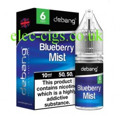 Blueberry Mist UK Made E-Liquid from Debang