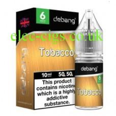 Tobacco UK Made E-Liquid from Debang