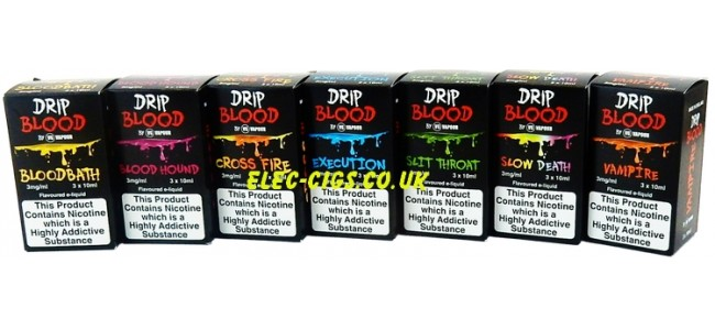 Drip Blood E-Juice 30 ML (3 x 10 ML)
