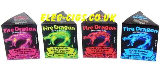 Fire Dragon Cloud Chasing E-Juice