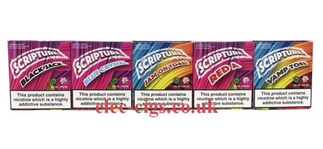 Scripture 30 ML (3 x 10 ML) 50-50 E-liquid