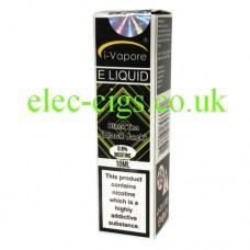 Image shows a single box of Black Jack/Black Tea E-Liquid by iVapore
