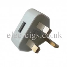 Mains Charger (White) for E-Cigarette