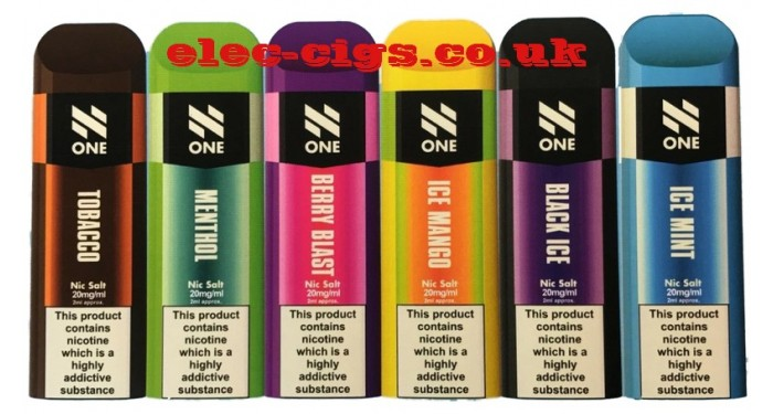 N ONE (All-in-One) Disposable Nic Salt Pods