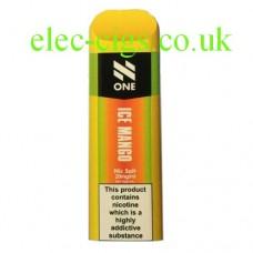 N One Disposable Nic Salt Pods: Ice Mango