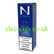 NicNic 70-30 (VG/PG) Nicotine Booster Shot 10 ML