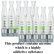 10 x H2 Atomizers Clear