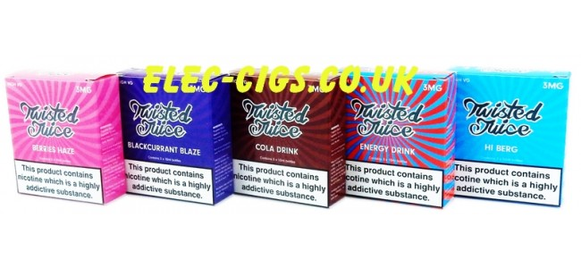 Twisted Juice 70-30 (VG/PG) 30ML (3 x 10 ML)