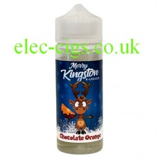 Made especially for Christmas but, trust me, it will be here all year round it is fantastic. Smooth chocolate with that orange flavour, just like the real thing; I love it. Kingston 100 ML Chocolate Orange E-Liquid