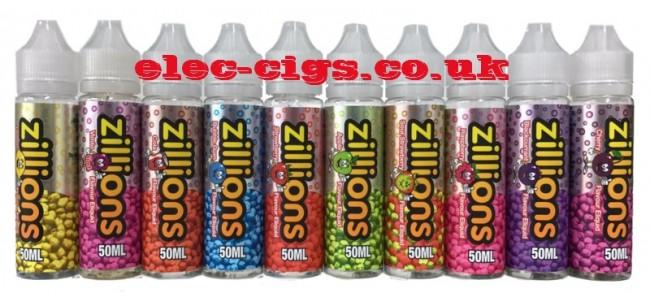 Zillions 50 ML E-Liquid